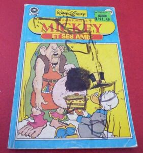 Soft-Cover-French-Heritage-039-039-Comicorama-039-039-Les-Aventures-de-Mickey-et-ses-Amis