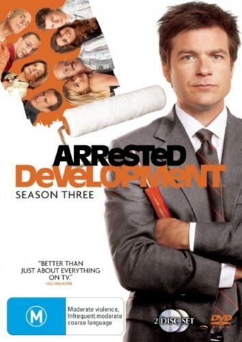 1 of 1 - Arrested Development Season 3 - DVD 2-Disc Set - Jason Bateman Michael Cera