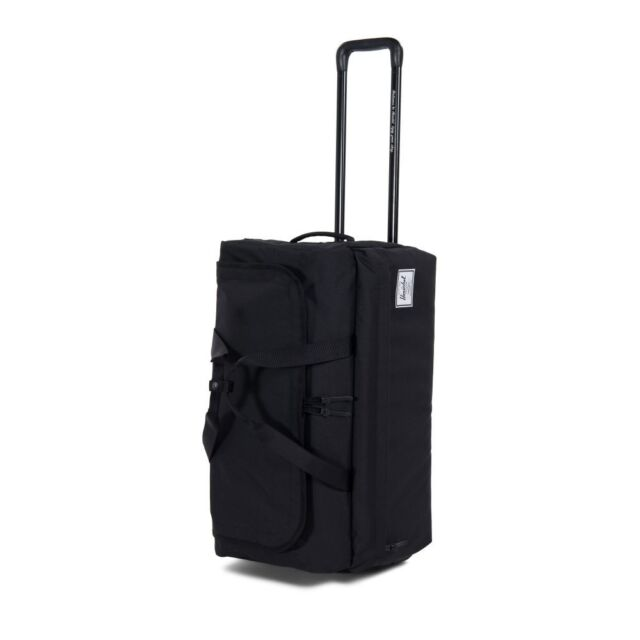 6c17afdaf Herschel Supply Co Wheelie Outfitter Black Carry on Luggage Duffel ...