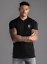 Gym-King-Mens-Short-Sleeve-Designer-Collared-Zip-Fastening-Polo-Shirt-T-shirt thumbnail 2