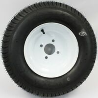 Loadstar 4-hole 10 X 6 White Trailer Wheel And Tire 20.5x8-10 6ply 4102086