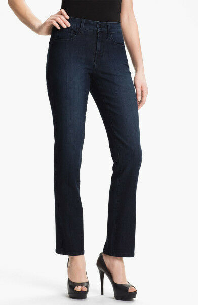 NEW NYDJ Not Your Daughters Jeans Sheri Skinny Dana Point dark 18P embellished