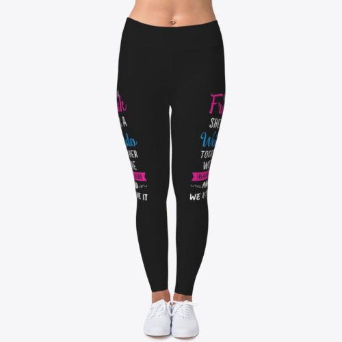 Pantaloni moda Fitness Fitness da Leggings Stirate yoga alla Freaking 4TYEBx