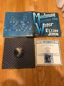 Elton-John-Vinyl-LP-MCA-Records-1971-93120A-Madman-Across-the-Water-VG