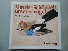 2 Bücher Von der Schönheit unserer Vögel 1983 Skizzenbuch Tiermaler Ernährung