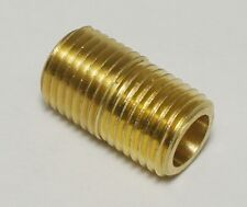 """MALE 1/4"""" NPT TO MALE 1/4"""" NPT STRAIGHT PIPE THREAD PROPANE NATURAL GAS FITTING"""