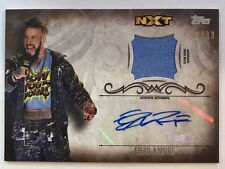 ENZO AMORE 2016 TOPPS WWE UNDISPUTED AUTO AUTOGRAPH JERSEY PATCH CARD, 50/99