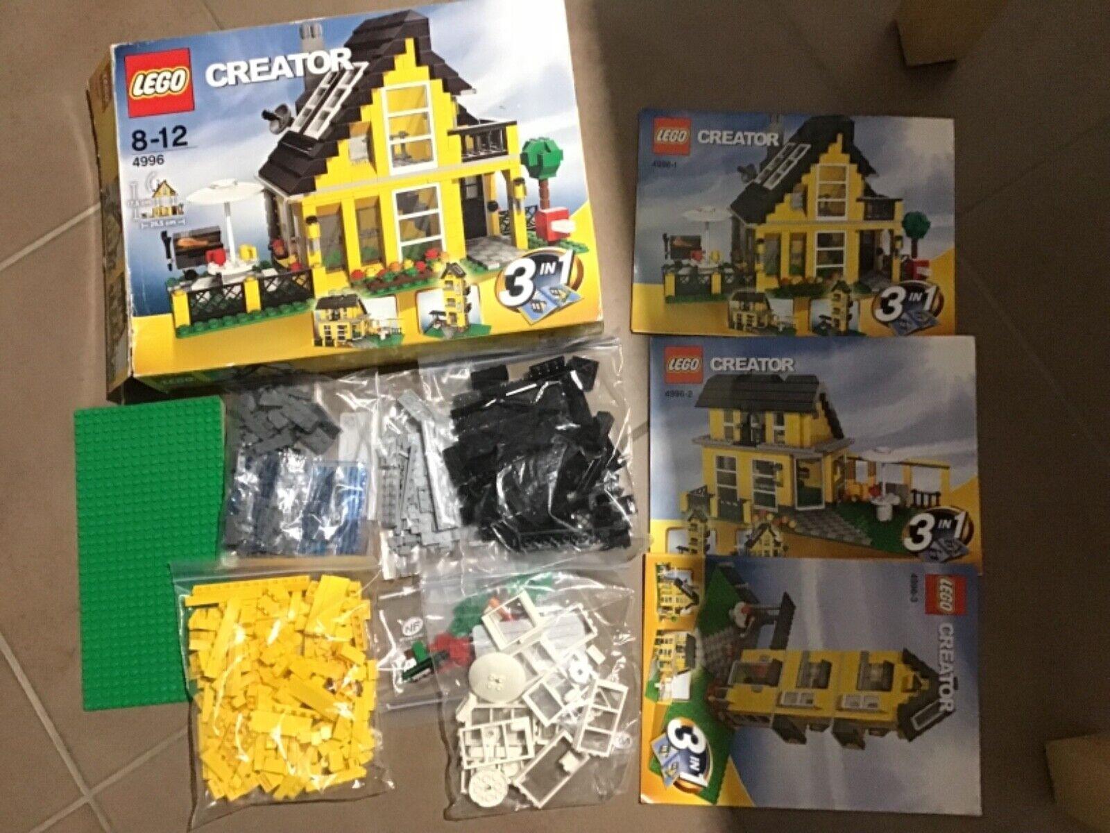 LEGO CREATOR n°4996. COMPLET