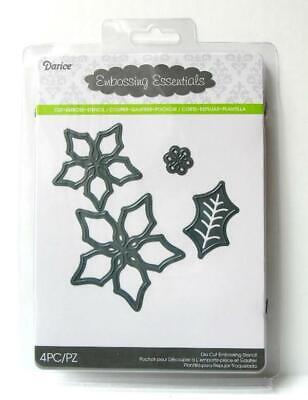 Emboss Stencil  NIP Large Snowflake 4 Inches  Darice Embossing Essentials Cut