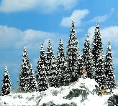 Affidabile Busch 6566 N/tt, Neve Tannen, 20 Pezzi, 30 - 60 Mm Alta, Nuovo-mostra Il Titolo Originale