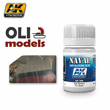 NAVAL Weathering SALT STREAKS for SHIPS Enamel 35ml - AK Interactive 306
