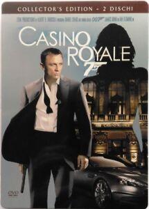 Dvd-007-Casino-Royale-Collector-039-s-Edition-Steelbook-2-dischi-2006-Usato
