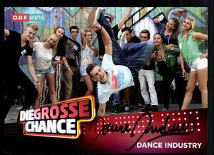 Dance-Idustry-Die-Grosse-Chance-Autogrammkarte-Original-Signiert-BC-11198