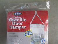BAJER DESIGN 5239 239 WHT OVER DOOR HANG HAMP Case of 6 Home Furnishings