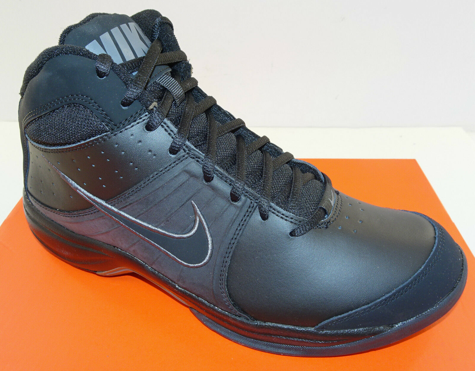 NIKE The Overplay VI Men's Basketball Shoe 443456-002   Black   NEW