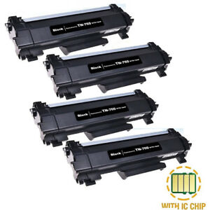 4PK-TN760-High-Yield-Toner-With-Chip-fit-For-Brother-DCP-L2550-HL-L2350-TN730