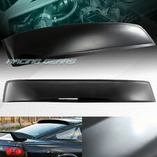BLACK ABS PLASTIC REAR WINDOW ROOF VISOR SPOILER WING FIT 89-94 NISSAN 240SX S13