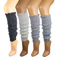 1 Paar Damen Stulpen Legwarmer mit Alpakawolle Strümpfe Socken Damenstulpen
