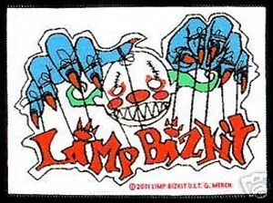 LIMP-BIZKIT-clown-strings-WOVEN-SEW-ON-PATCH-official-merch-no-longer-made