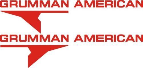 Grumman American Aircraft Logo Decal//Sticker!