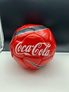 Coca-Cola-Foot-Ball-Unbenutzt-Top-Condition