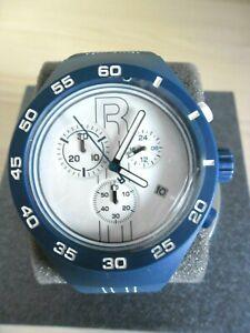 Detalles de Reloj Reloj Reebok Clásico AzulBlanco Pulsera Caucho RC IRU G6 Nuevo