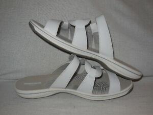 7fed1742f Image is loading CLARKS-Brinkley-Lonna-Slide-Sandals-Women-039-s-