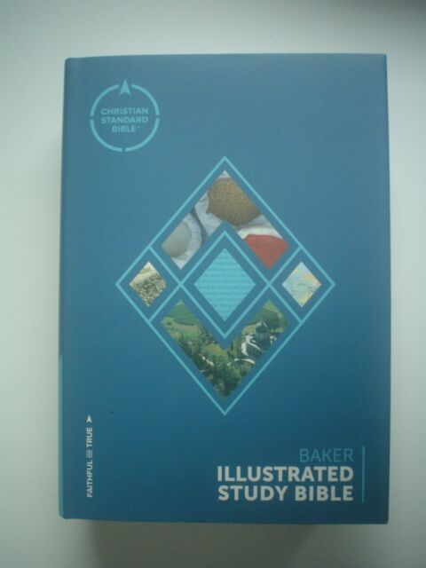Baker Illustrated Study Bible, Christian Standard Bible (CSB) hardcover NEW