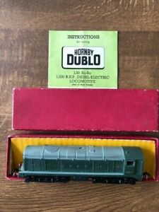 Hornby Dublo ,2230 Bo-Bo - DCC Hornby decoder fitted – Boxed - Excellent - Rare
