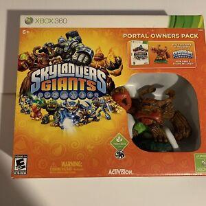 Skylanders Giants: Portal Owners Pack (Microsoft Xbox 360) Brand New!