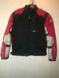 Rk Sports Vista Red Black Grey Summer Textile Short