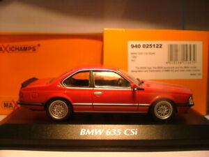 Extremadamente-Raro-maxichamps-1-43-1982-BMW-635-CSI-E24-detalle-sobresaliente-nla
