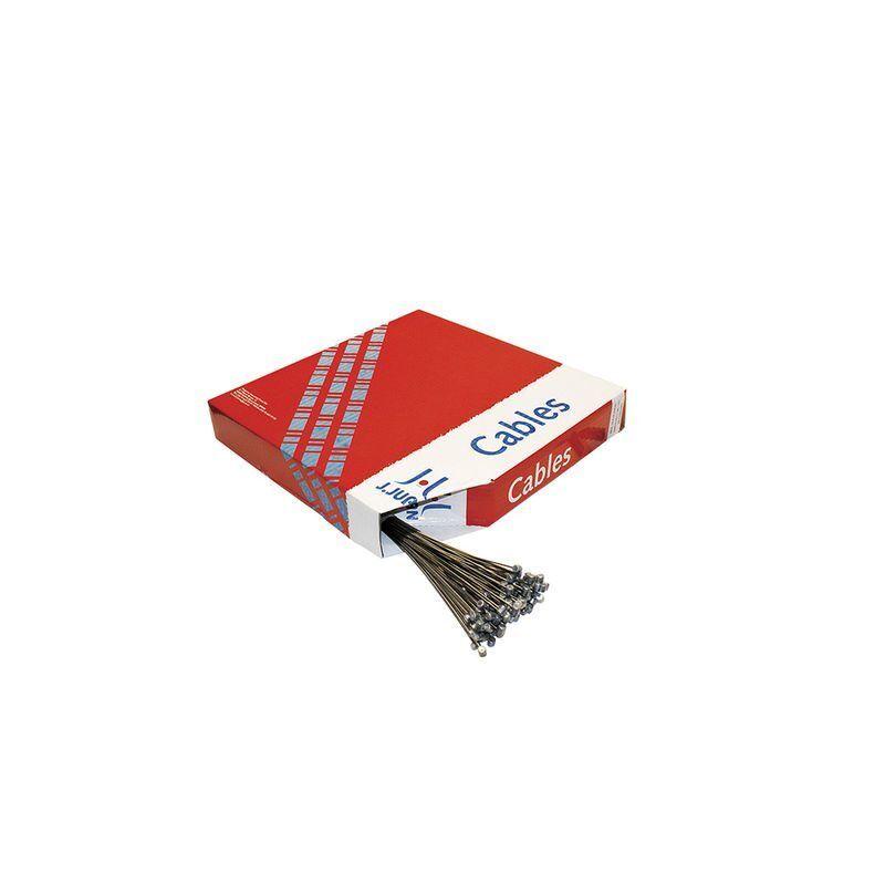 VARIOS 100 cavetti in acciaio inox con terminale cilindrico per freno posteriore