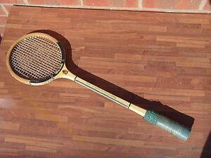 Vintage-Badminton-Racket-GOLD-LION-ULTRA-STROKE-Championship-Play-Czechoslovakia