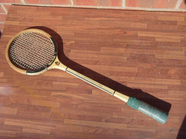 Vintage Badminton Racket GOLD LION ULTRA STROKE Championship Play Czechoslovakia