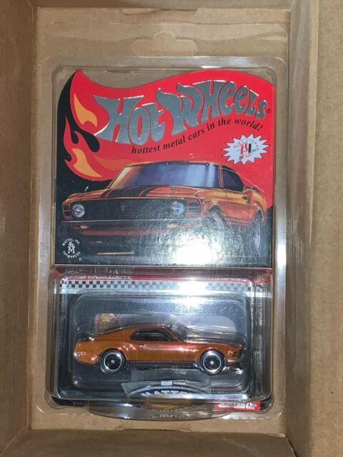 2021 Hot Wheels RLC Membership Kit Pin & Patch '70 Mustang Boss 302 ✅