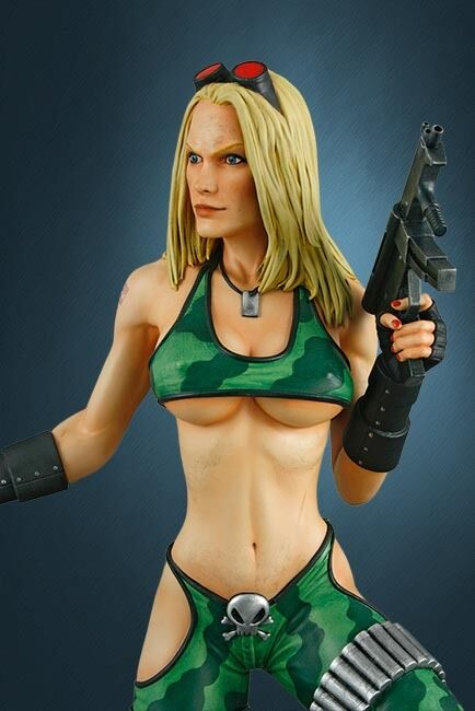 Heavy Metal Alien Marine Girl Super Sexy Statue Hollywood  Collectible Statue 1\4  vendita di offerte