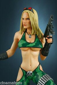 Heavy Metal Alien Marine Girl Statue super sexy de Hollywood à collectionner 1 4