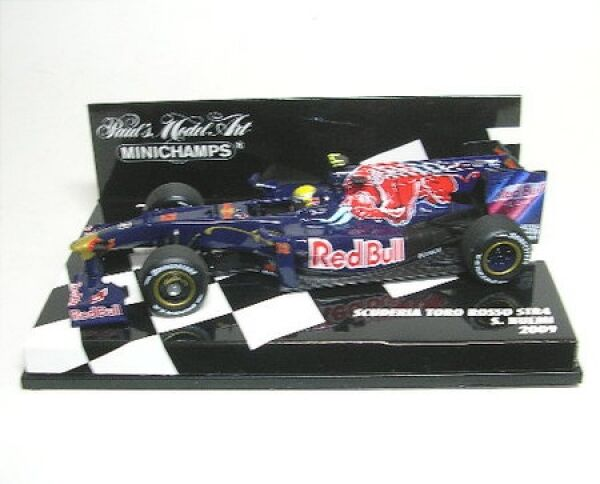 Tgold red red red STR 4 No. 12 S. Buemi Formel 1 2009 b54d7d