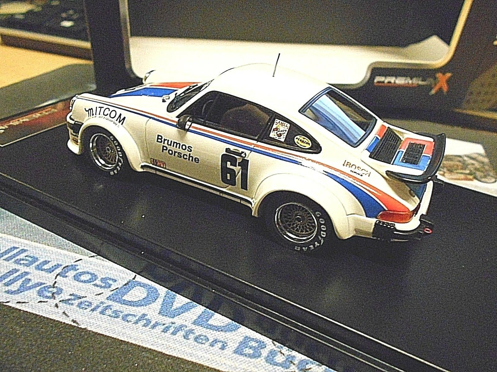 Porsche 911 934 Turbo Daytona 1977  61 Brumos Gregg Superproduction IXO PREMIUM X SP 1 43