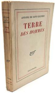 TERRE-DES-HOMMES-Antoine-De-Saint-Exupery-Gallimard-1957