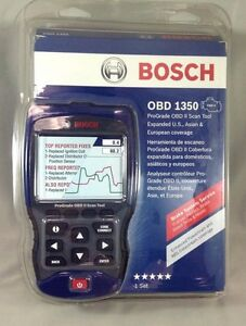new bosch obd 1350 scanner scan tool ii pro grade enhanced code reader auto ebay. Black Bedroom Furniture Sets. Home Design Ideas