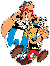 "Asterix and Obelix Kids Cartoon Car Bumper Window Locker Sticker Decal 4""X5"""