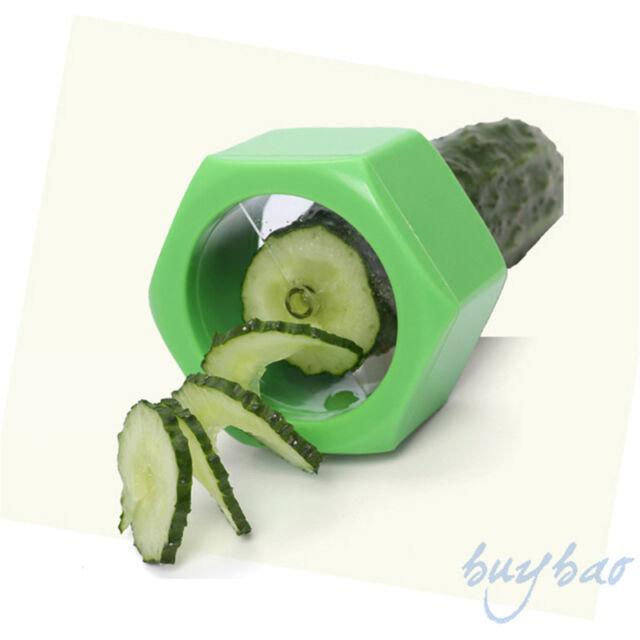 As Seen On TV Practical Creative Spiral Slicer/Cucumber Melon Salad Kitchen Tool