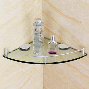 Outstanding Details About Bathroom Corner Glass Shelf Shower Caddy Glass Shelves Organizer Rack Storage Download Free Architecture Designs Scobabritishbridgeorg