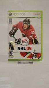 NHL 09 CIB (XBOX 360, EA Sports, 2008) Complete Authentic Game Fast Shipping