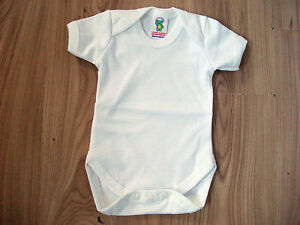 e1d6e927b113 Baby Boy Girl Body Suits Popper Vests Short Sleeve Newborn