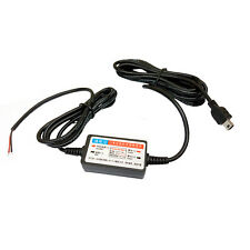 24H Step Down Wire For Car CCTV DVR Accident Reverse Camera Video Recorder