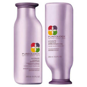 Pureology-Hydrate-Shampoo-and-Conditioner-Duo-8-5-fl-oz-for-smooth-amp-silky-hair