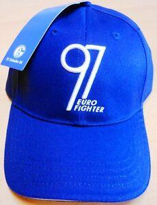 Original-Basecap-Eurofighter-97-FC-Schalke-04-Erwachsene-NEU-mit-Etikett